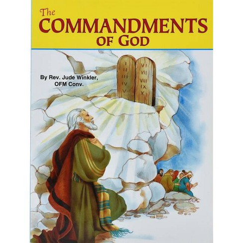 The Commandments of God - (St. Joseph Picture Books (Paperback)) by  Jude Winkler (Paperback) - image 1 of 1