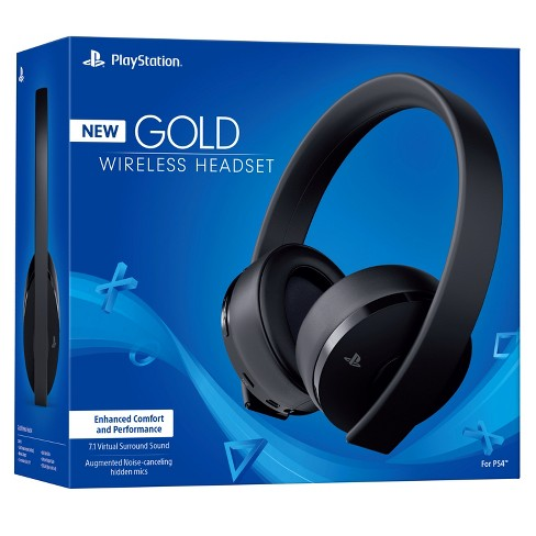 PlayStation Gold Wireless Gaming Headset   Target c9e8493700cb