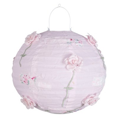 Nursery Pink Floral Decorative Lantern - Simply Shabby Chic®