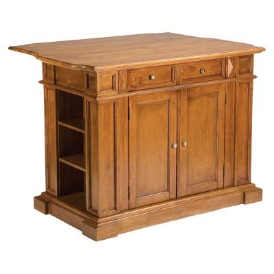 Kitchen Island Wood/Cottage Oak - Home Styles