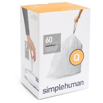 Trash Bags: Simplehuman code Q