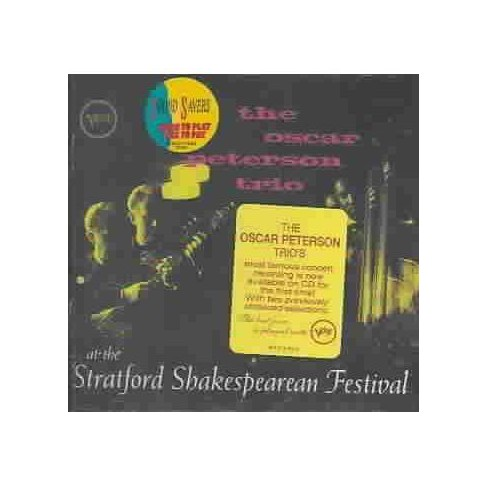 Oscar Peterson - At the Stratford Shakespearean Festival (CD) - image 1 of 1