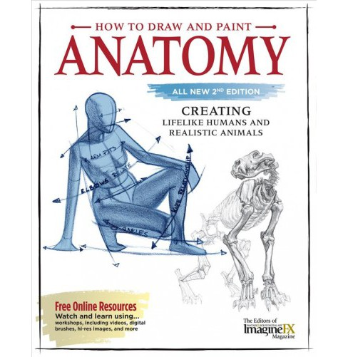 How To Draw And Paint Anatomy Creating Lifelike Humans And