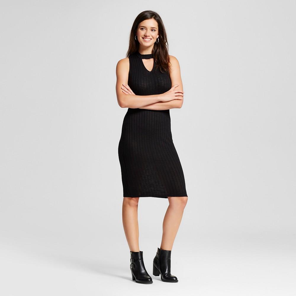 Women's Cutout Bodycon Dress - Xhilaration Black S