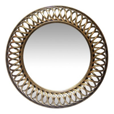 Lattice Gold 22.75  Wall Mirror Gold - Infinity Instruments