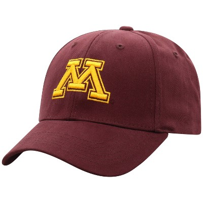 NCAA Minnesota Golden Gophers Men's Structured Brushed Cotton Hat