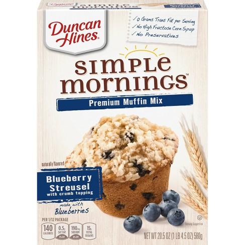 Duncan Hines Blueberry Muffin Mix - 21.5oz - image 1 of 3