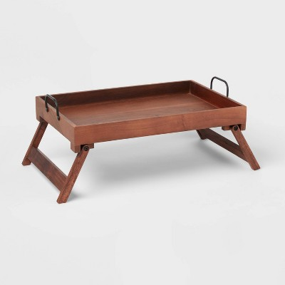 """20"""" x 13"""" Wood Serving Bed Tray - Threshold™"""