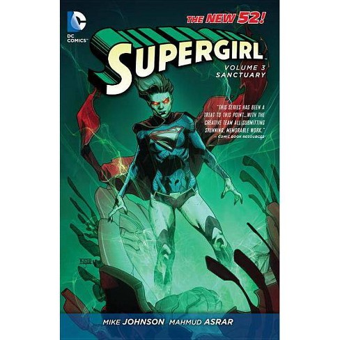 Sanctuary - (Supergirl (DC Comics)) by  Mike Johnson (Paperback) - image 1 of 1