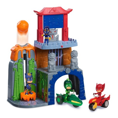 PJ Masks Mystery Mountain Playset - image 1 of 3