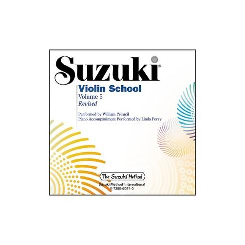 Alfred Suzuki Violin School Volume 5 Revised (CD) - image 1 of 1