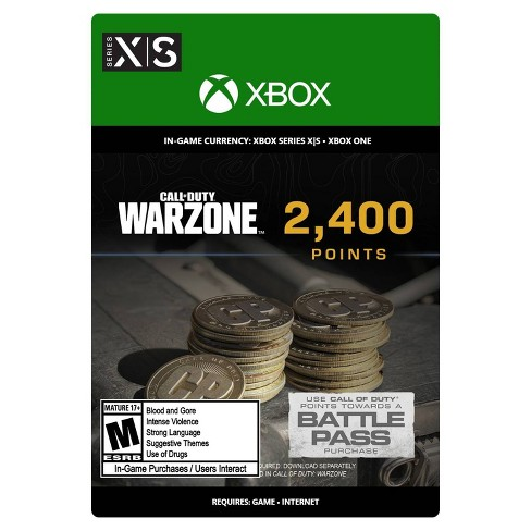Call of Duty: Warzone 2,400 Points - Xbox Series X S/Xbox One (Digital) - image 1 of 4