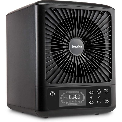 Ivation 5-in-1 HEPA UV Air Purifier & Ozone Generator W/Digital Display Timer and Remote, Ionizer, UV Sterilizer & Deodorizer for Up to 3,000 Sq/Ft
