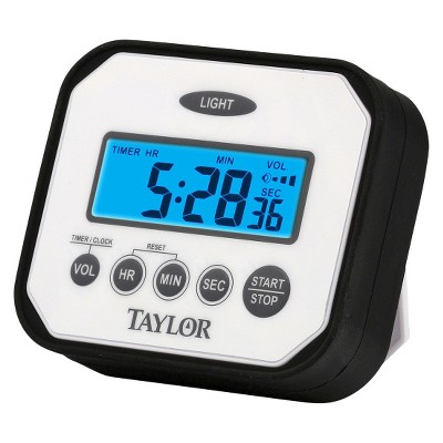 Taylor Splash 'n' Drop – Water and Impact Resistant Timer/Clock
