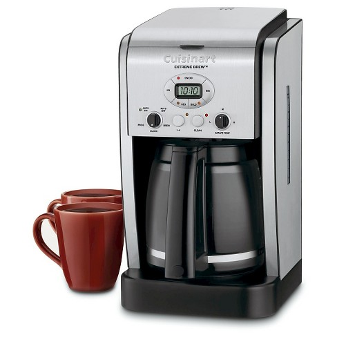 Cuisinart Extreme Brew 12 Cup Programmable Coffee Maker Stainless