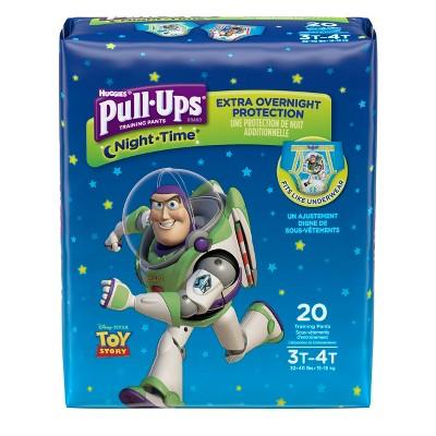 Huggies Pull-Ups Boys' NightTime Training Pants Jumbo Pack - Size 3T-4T (20ct)