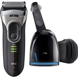 Braun ProSkin 3090cc Men's Electric Shaver with Clean & Charge System