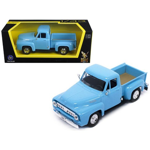 Cast Car Accessory Package 1953 Ford Victoria Blue Welly 22093 1 24 Scale Model Toy W Display Case