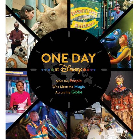 One Day at Disney - (Disney Editions Deluxe) by  Bruce Steele (Hardcover) - image 1 of 1