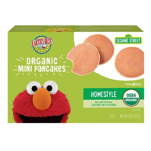 Earth's Best Organic  Homestyle Frozen Mini Pancakes - 12ct/8oz - image 1 of 3