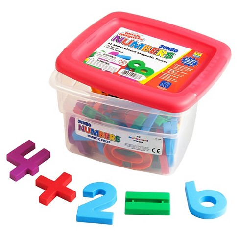 Educational Insights Math Magnets - Jumbo Multicolored (42pc) - image 1 of 2
