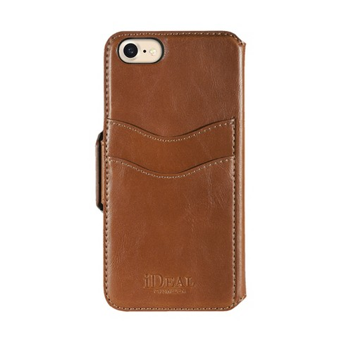 iDeal of Sweden Apple iPhone 8/7/6s/6 Swipe Wallet Case - Brown - image 1 of 3