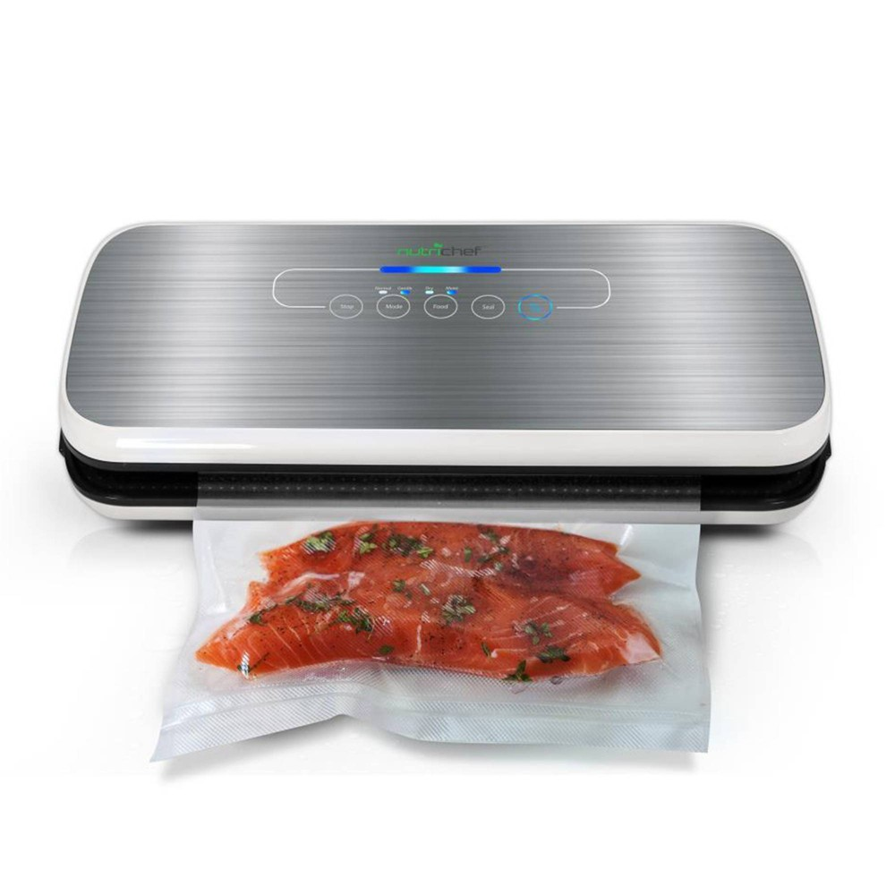 Image of The NutriChef Automatic Food Vacuum Sealer, Black