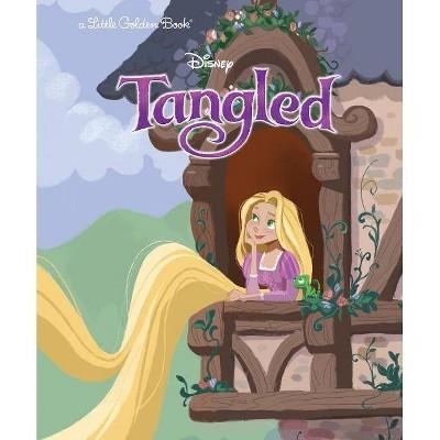 Tangled (Disney Tangled) - (Little Golden Book) by  Ben Smiley (Hardcover)
