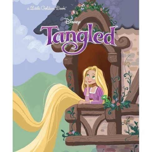 Tangled (Disney Tangled) - (Little Golden Book) by  Ben Smiley (Hardcover) - image 1 of 1