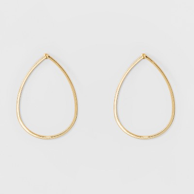 Metal Drop Earrings - A New Day™ Gold