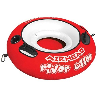 Airhead River Otter Single Rider Inflatable Float Lounge Lake Pool Tube | AHRO-1