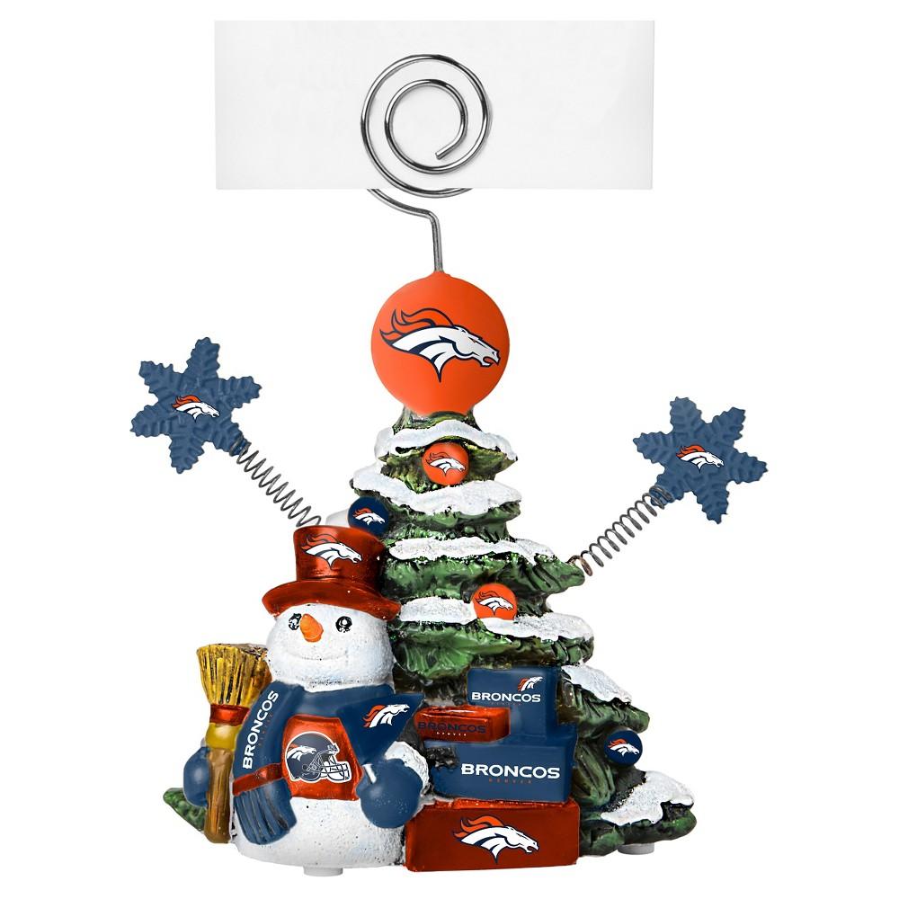 Denver Broncos Topperscot Holiday Sculpture