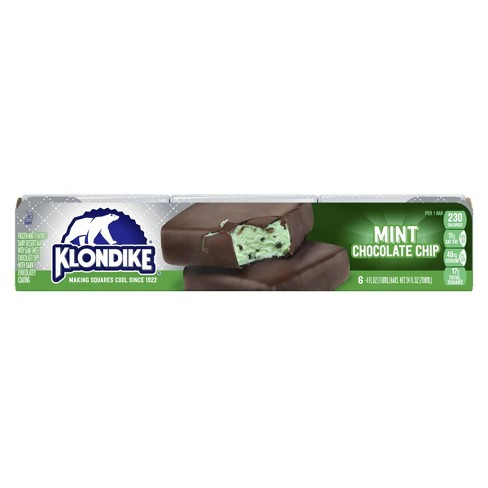 Klondike Mint Chocolate Chip Ice Cream Bars - 6pk - image 1 of 4