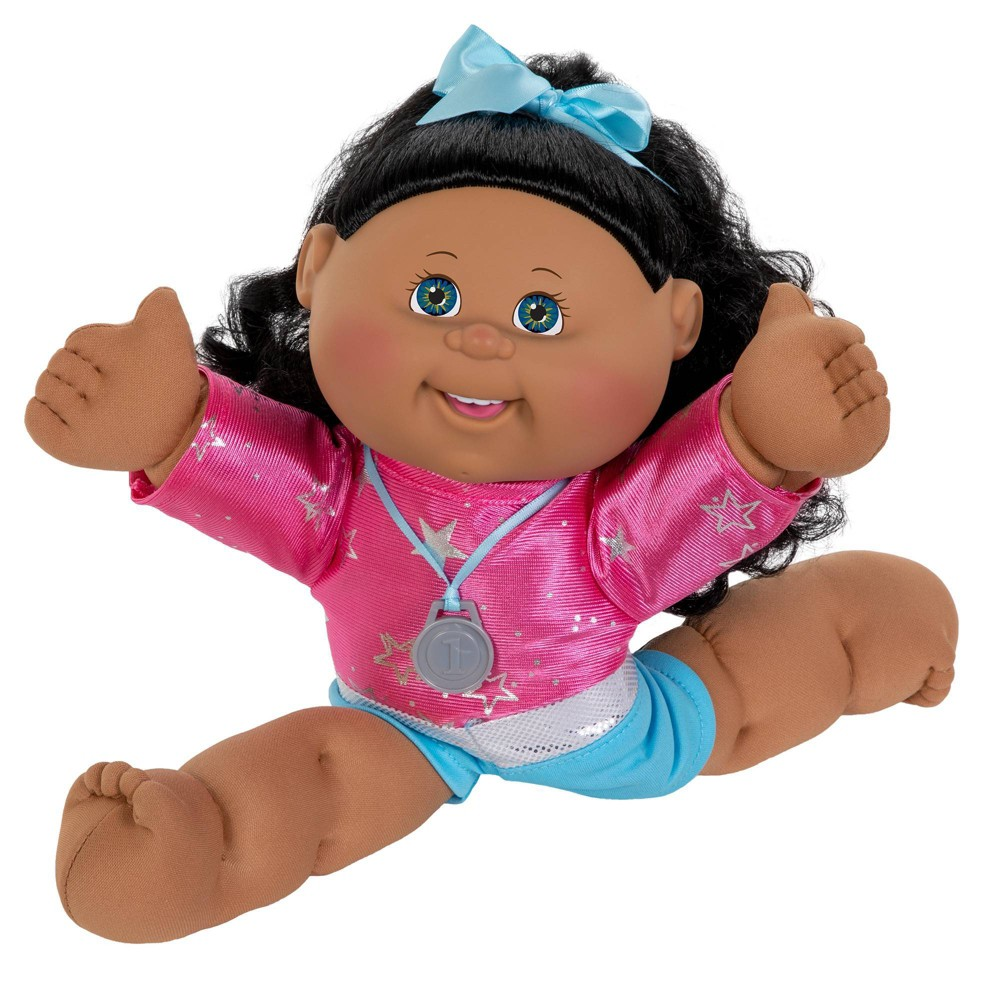 Cabbage Patch Kids 14 34 Gymnast Doll Brown Eyes