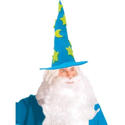 Funky Fresh Wizard Adult Foam Costume Hat - One Size Fits Most