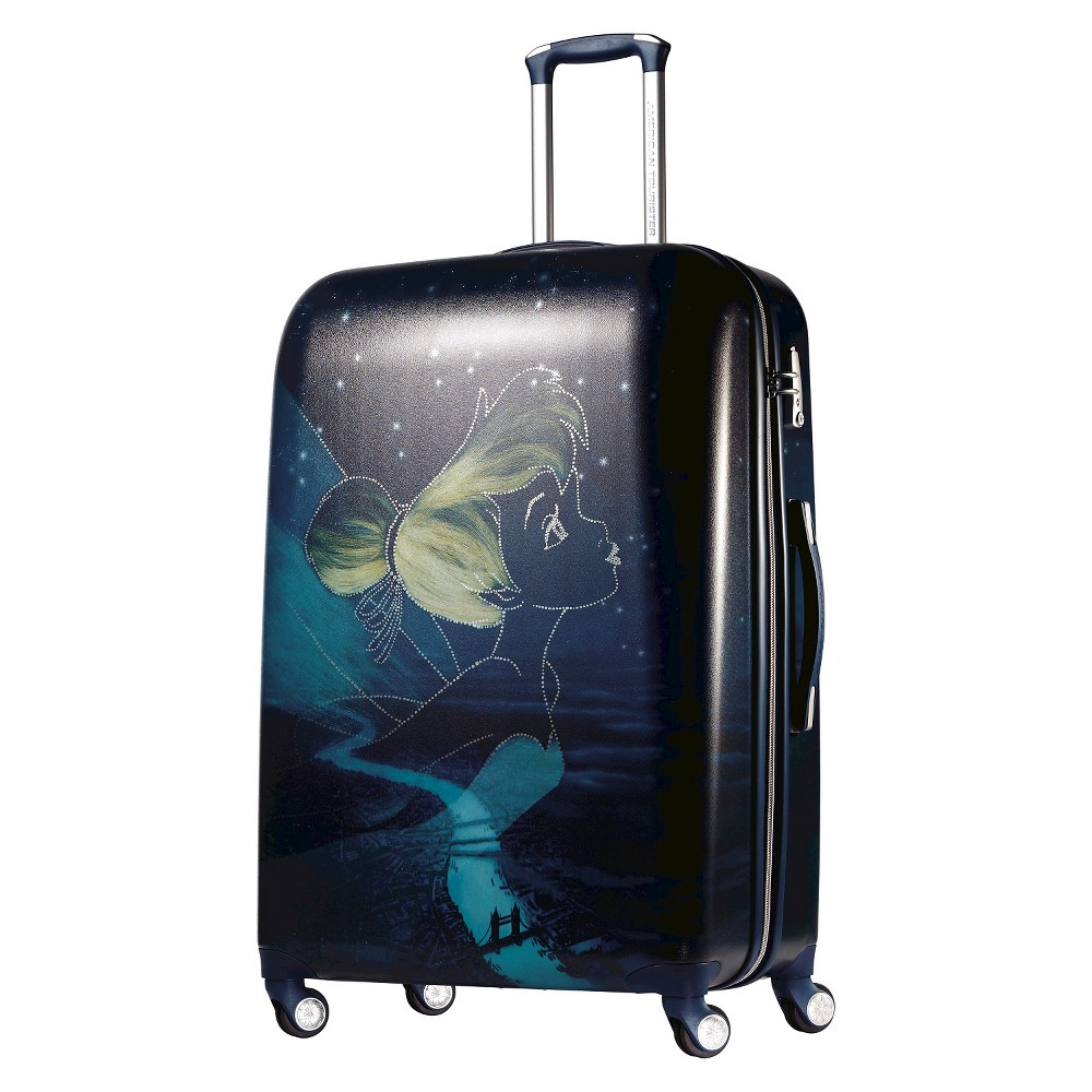 American Tourister Disney Tinkerbell Hardside Spinner Suitcase - Blue (28), Multi-Colored