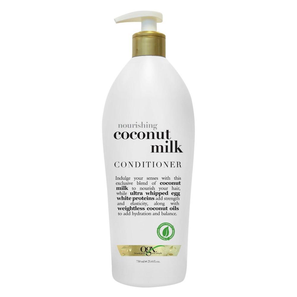 Ogx Nourishing Coconut Milk Conditioner - 25.4 fl oz