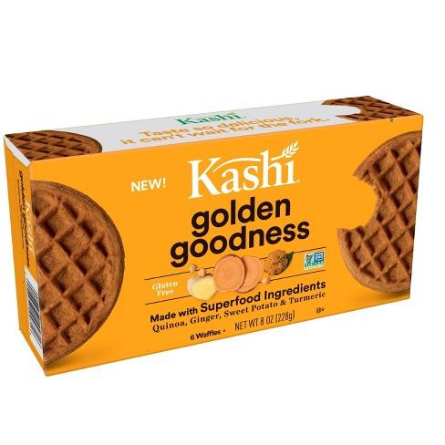 Kashi Sweet Golden Goodness Frozen Waffles - 8.1oz - image 1 of 2