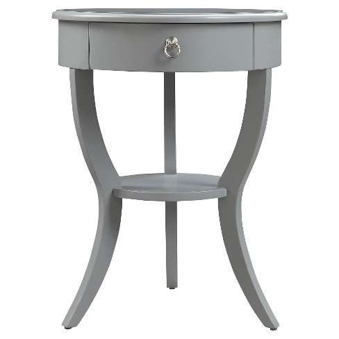 Edna 1-Drawer Nightstand - Inspire Q - image 1 of 6