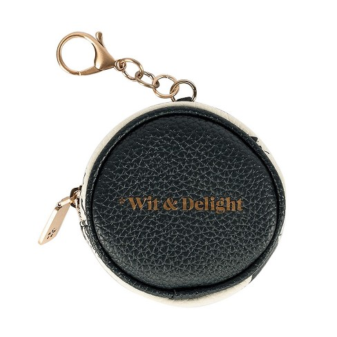 Wit & Delight Coin Purse Keychain Luggage Tag - image 1 of 3