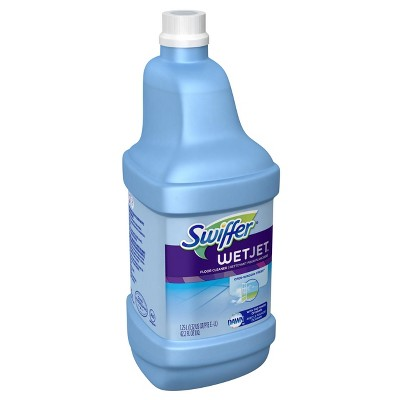 Swiffer Wet Jet Multi-purpose Floor Cleaner Solution Refill Open Window Fresh Scent - 1.25l