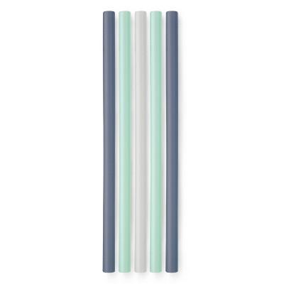 GoSili 5pk Silicone Reusable Standard Straws