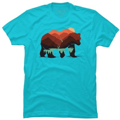 stay wild BEAR Mens Graphic T-Shirt - Design By Humans