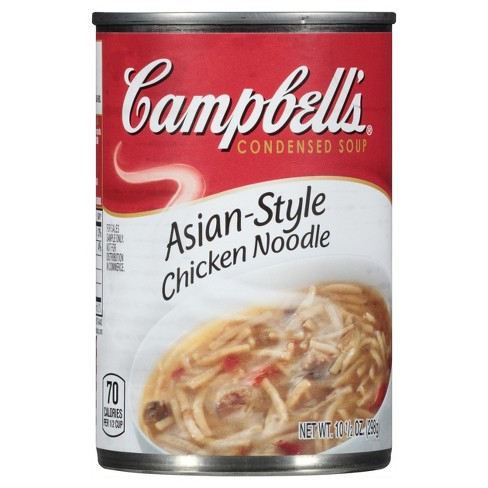 Campbell's® Condensed Asian-Style Chicken Noodle Soup 10.5 oz - image 1 of 8