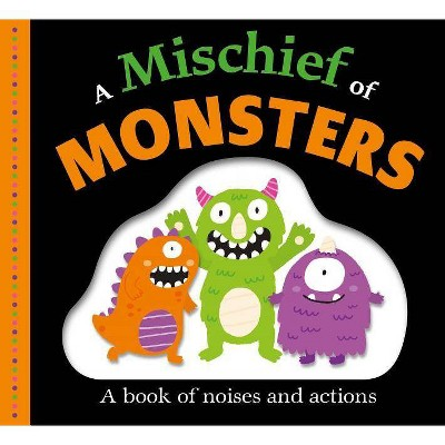 A Mischief of Monsters - (Picture Fit) by  Roger Priddy (Board Book)