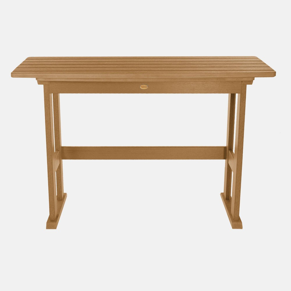 Image of Lehigh Counter Height Balcony Patio Table Toffee - highwood
