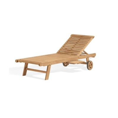 Chaise Lounge Natural - Oxford Garden