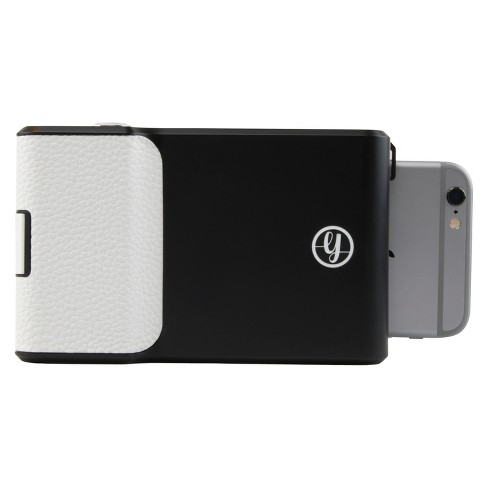 prynt instant print camera case for apple iphone 6 and 6s black