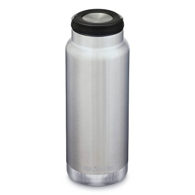 Klean Kanteen 32oz TKWide Insulated Stainless Steel Water Bottle with Loop Cap - Silver