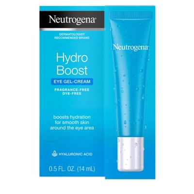 Unscented Neutrogena Hydro Boost Hyaluronic Acid Gel Eye Cream - 0.5 fl oz